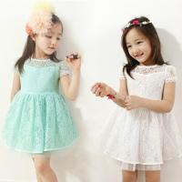 платья коктейльные для девочек 8-10 лет белое