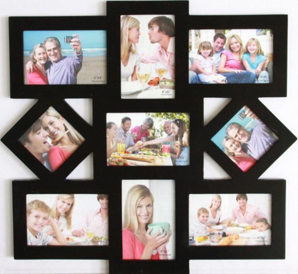 Как сделать чтобы несколько фото в одной рамке