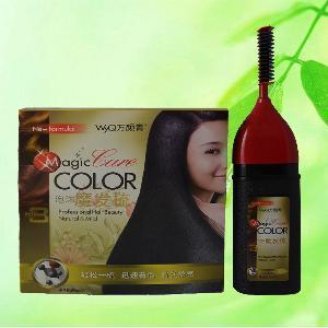 hair color shampoo marketing report