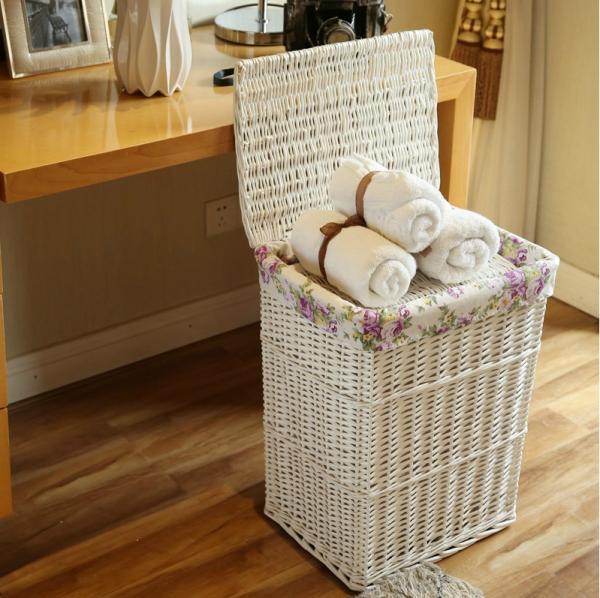 Стать плетеные корзины для белья в ванную клуппы