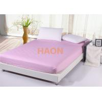 queen size pink bed linen combed cotton sheets for hotel